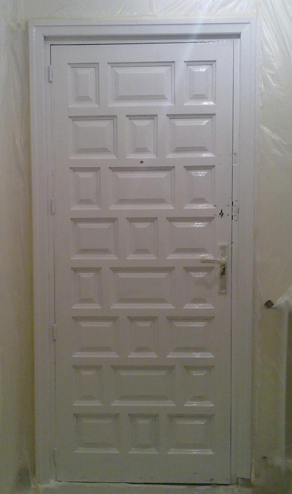 Puerta Lacada Blanca Puerta Lacada Blanca Con Llagueado  ~ Precio Puerta Lacada Blanca Instalada