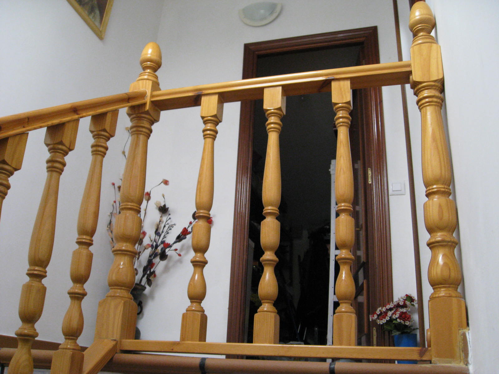 barandillas de madera balaustres y balaustradas de