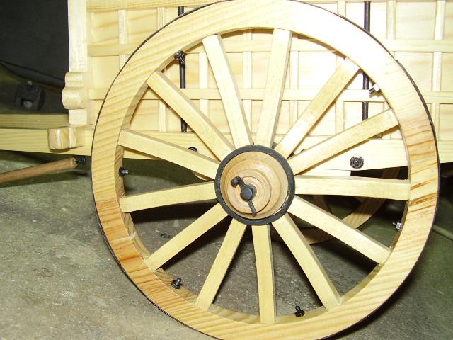 carro de varas de madera carritos de madera carros en