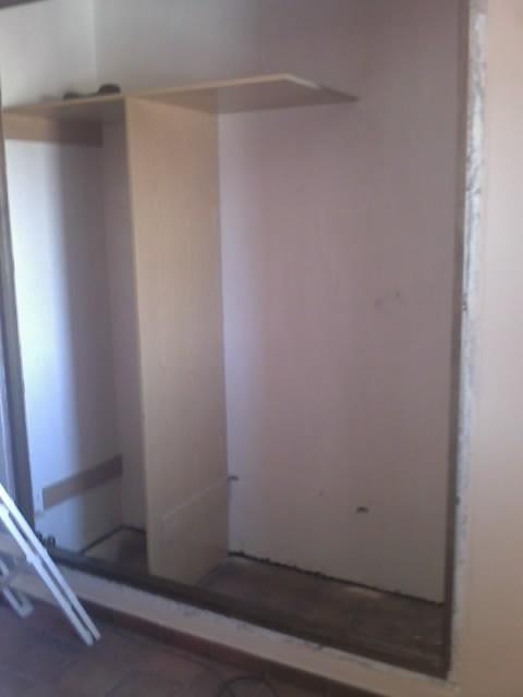 Como forrar y montar el interior de un armario empotrado - Como vestir un armario ...