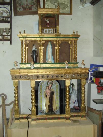 Venta De Carros >> el tallercito restauración de iglesias y retablos en Ávila