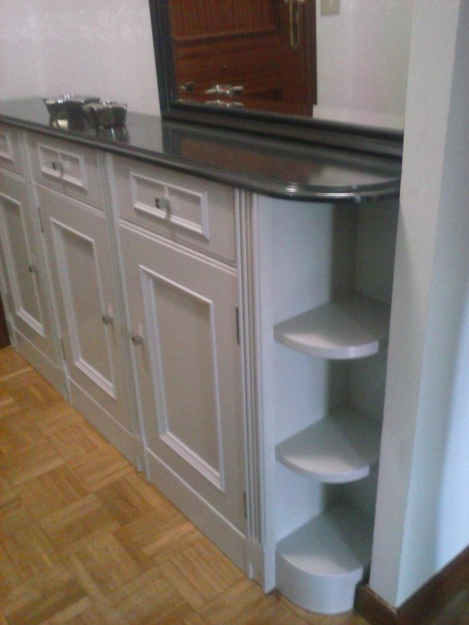 Lacados en blanco negro y color de puertas y lacado de - Lacados de muebles ...
